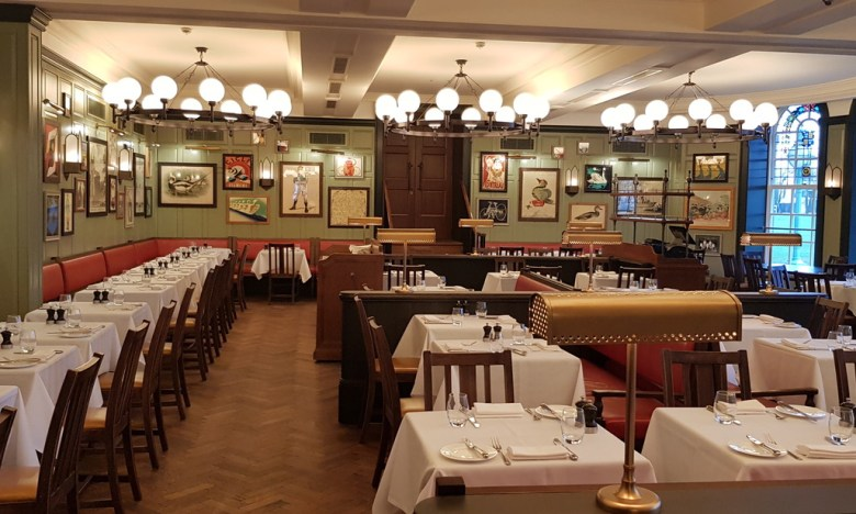 Parkers Tavern Luxury University Arms Hotel Cambridge Buffet Breakfast