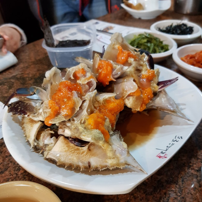 Seoul Itinerary Travel Tips Pro Soy Crab