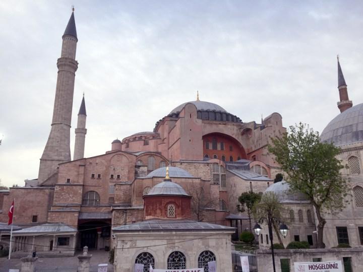 #Istanbul #hagiasophia