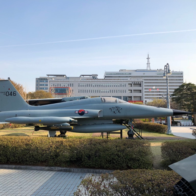 Holiday Seoul Itinerary Travel Tip War Memorial Korea Fighter Jet