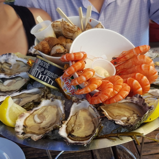 North France Driving Itinerary Travel Tips Cap Ferret Oyster Shack