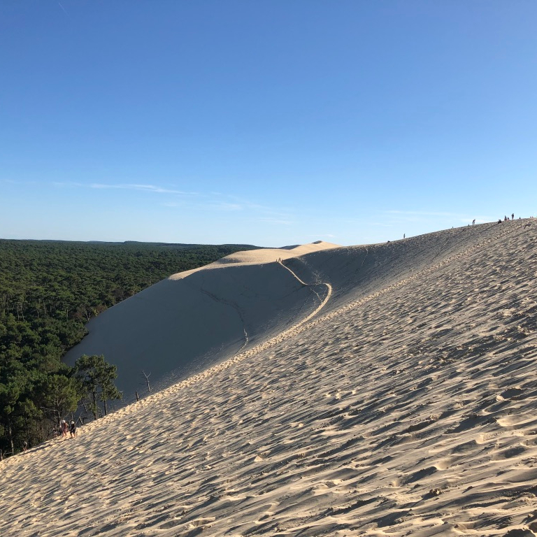 North France Driving Itinerary Travel Tips Dune du Pilat Sand Dune
