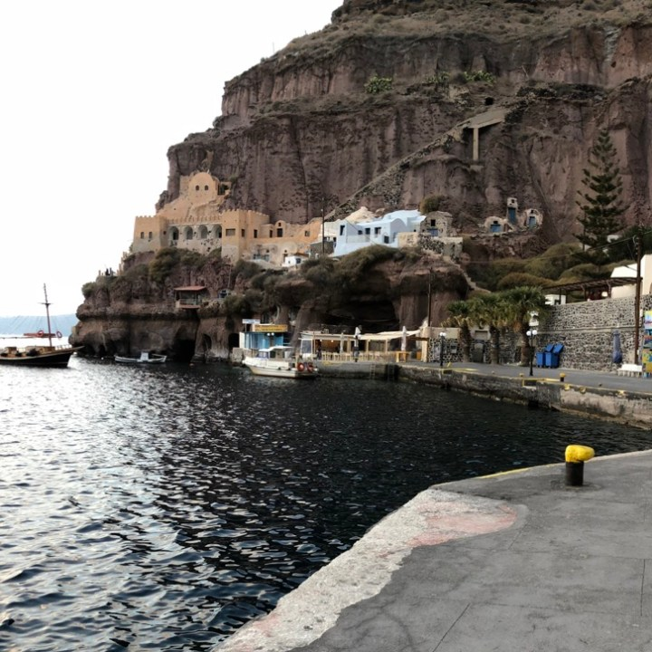 Off Peak Holiday Santorini Itinerary Travel Tips Fira Old Port