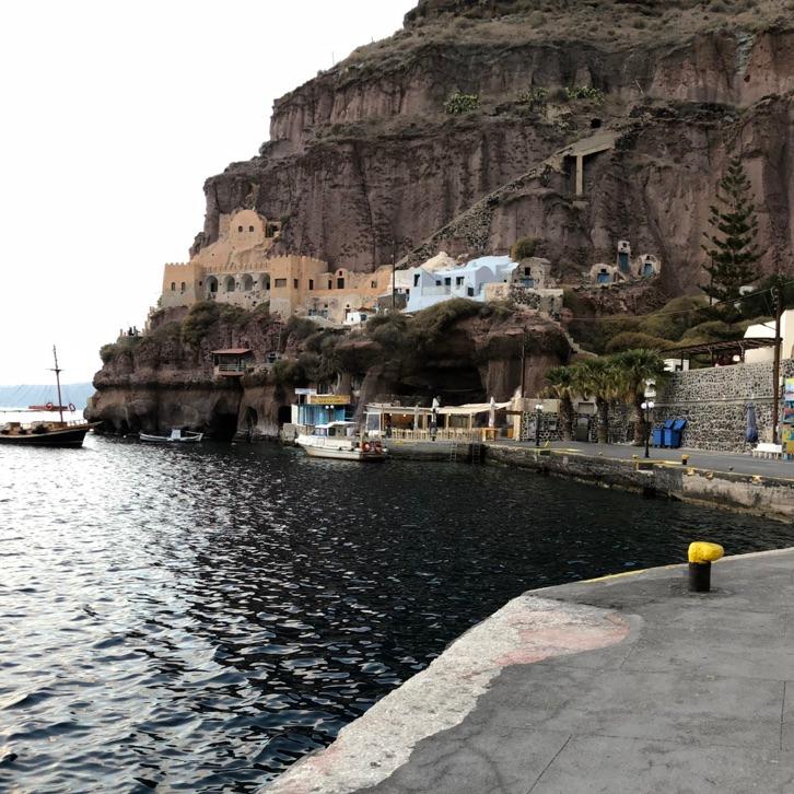 Off Peak Holiday Santorini Itinerary Travel Tips Fira Old Port
