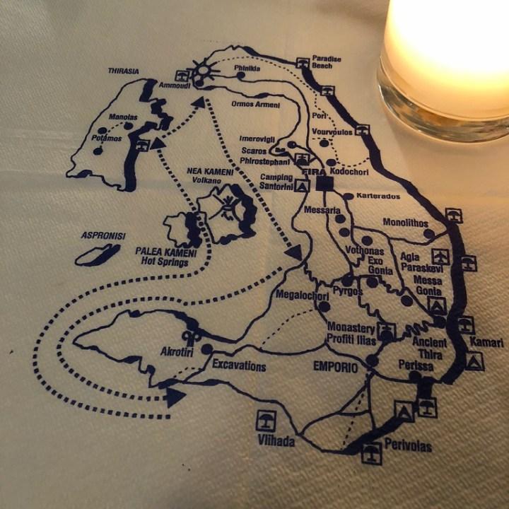 Off Peak Holiday Santorini Itinerary Travel Tips Santorini Map