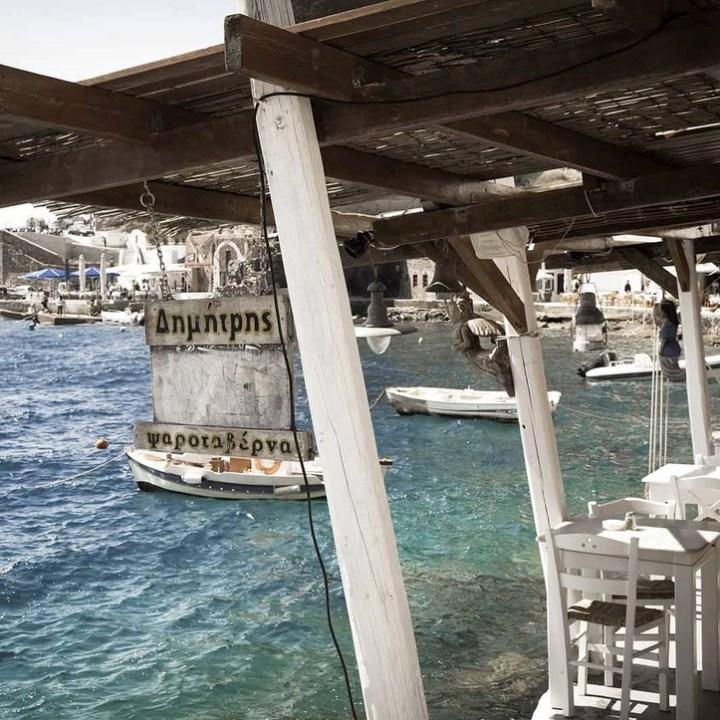 Holiday Santorini Itinerary Travel Tips Ammoudi Bay Seafood Restaurant