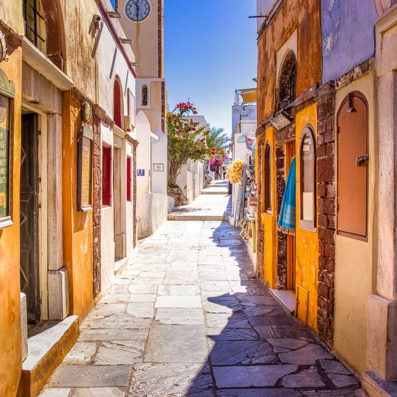 Off Peak Holiday Santorini Itinerary Travel Tips Streets