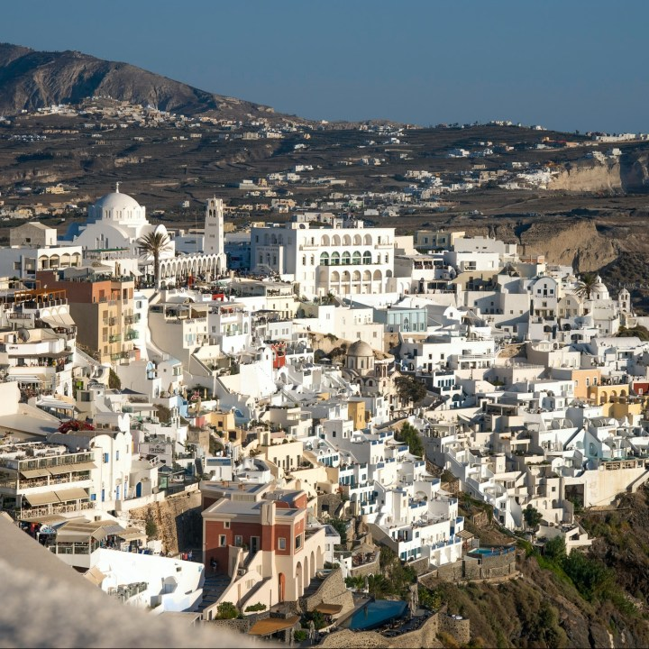 Off Peak Holiday Santorini Itinerary Travel Tips Fira