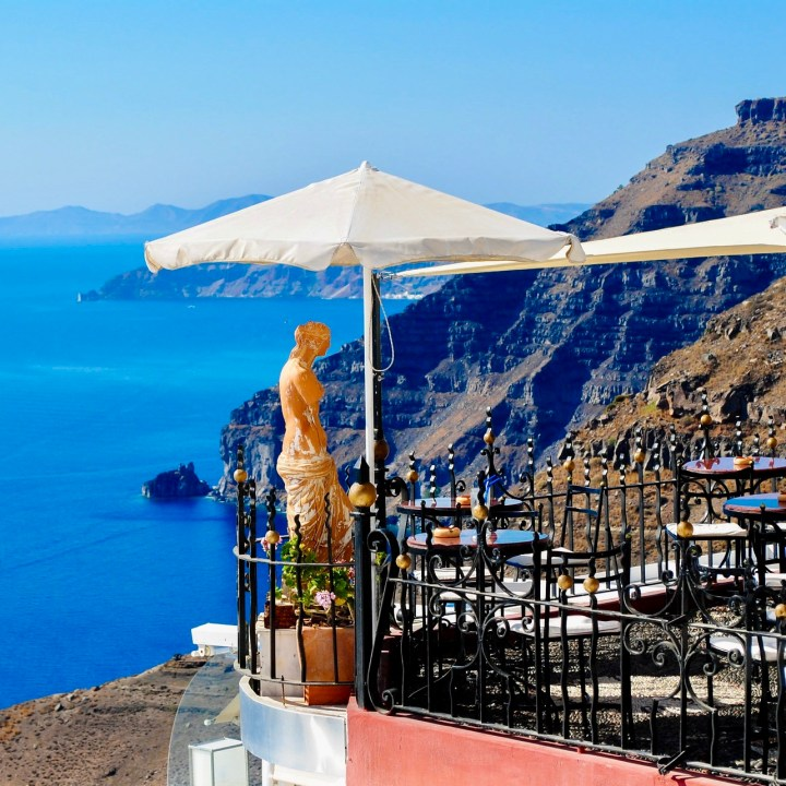 Perfect Holiday Santorini Greece Itinerary Travel Tips PK Cocktail Sunset Bar