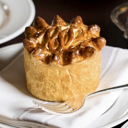 Holiday London Itinerary Travel Tips Holborn Dining Room Lunch Pie