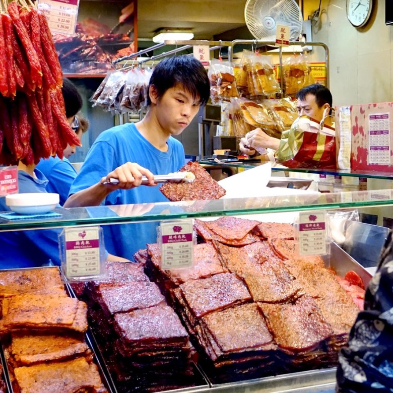 Holiday Singapore Itinerary Travel Tips Chinatown Snacks Lim Chee Guan BBQ Pork Slices