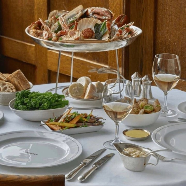 Holiday London Itinerary Travel Tips J.Sheekey Covent Garden Lunch