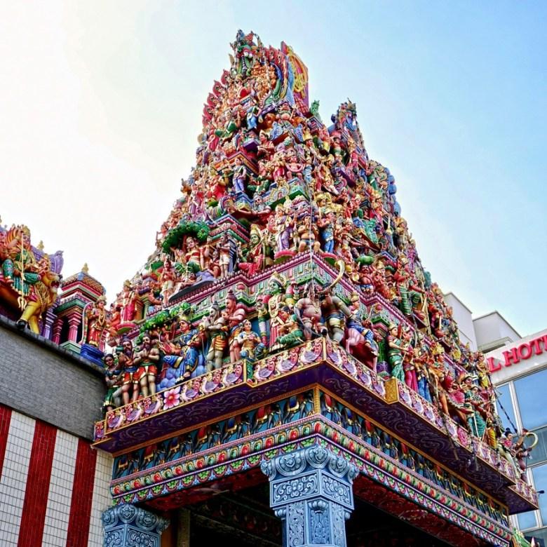 Holiday Singapore Itinerary Travel Tips Little India Sri Veeramakaliamman Temple
