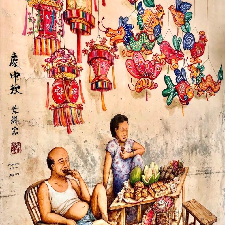 Holiday Singapore Itinerary Travel Tips Chinatown Colourful Wall Mural Graffiti