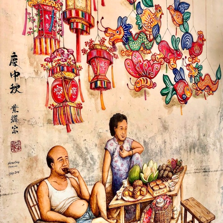 Holiday Singapore Itinerary Travel Tips Chinatown Colourful Wall Mural Graffiti
