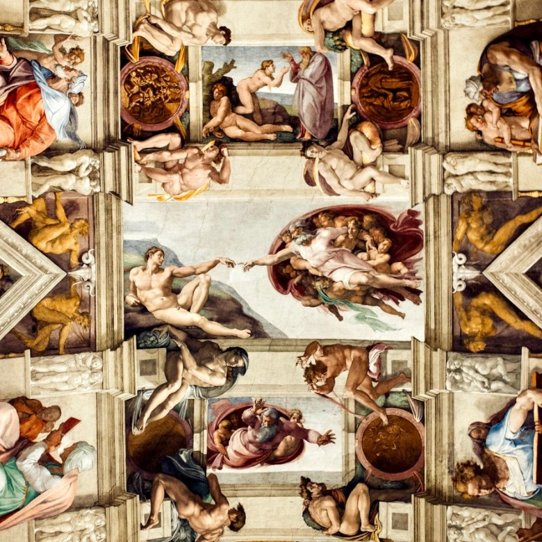 Rome Travel Itinerary Travel Tips Vatican Museums Sistine Chapel The Creation of Adam