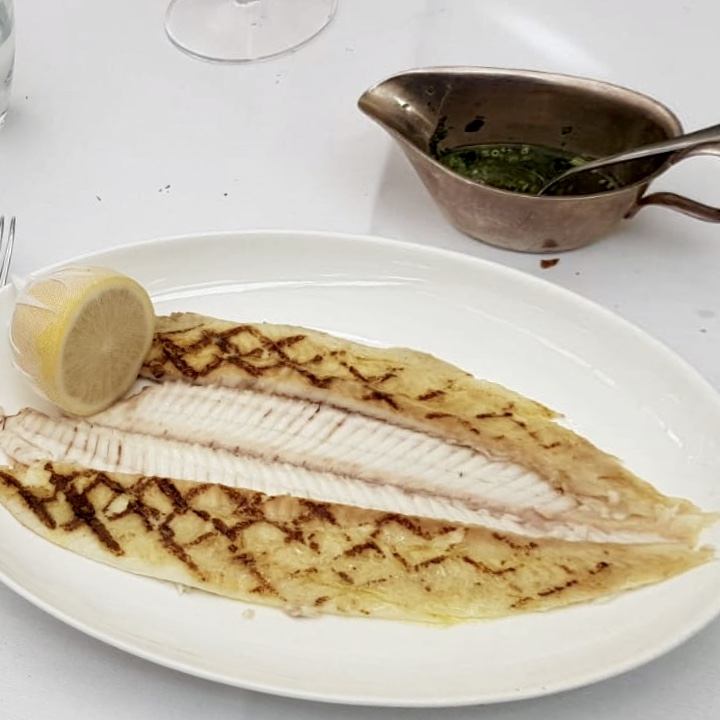 Daphne's Classic Italian Restaurant South Kensington Dover Sole Grilled
