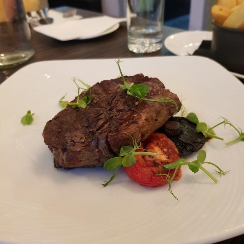 Porto Restaurant Bowness Lake Windermere District Dinner Alfresco Review Steak