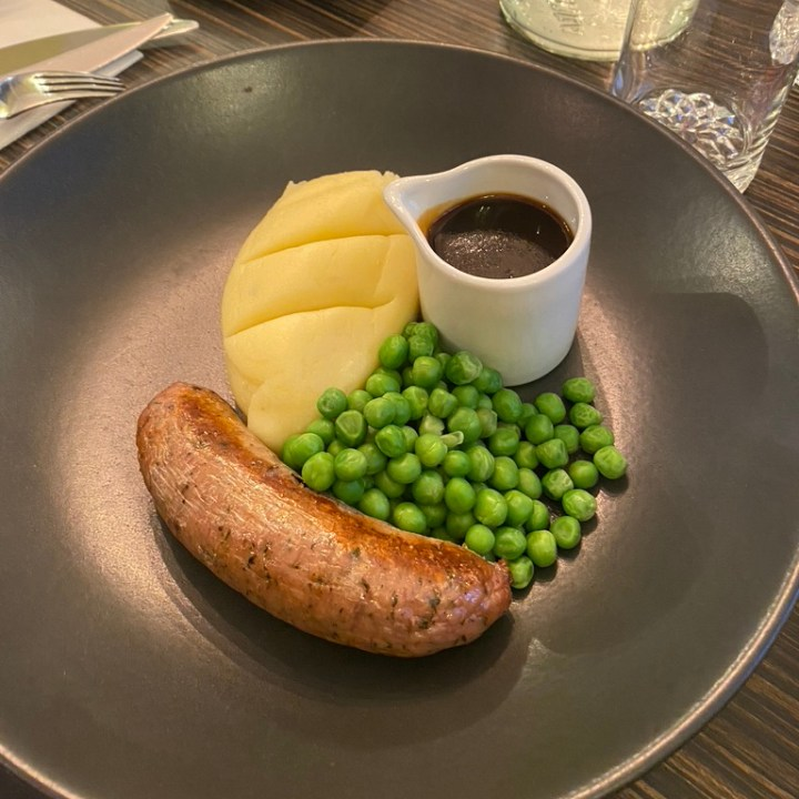 Porto Restaurant Bowness Lake Windermere District Dinner Alfresco Review Sausage Mash Kids Menu