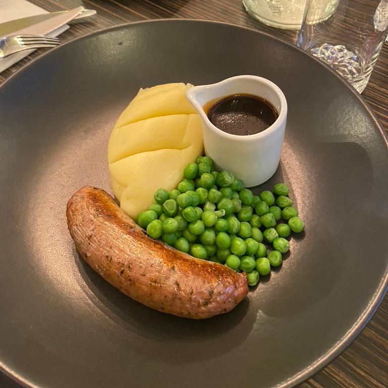 Porto Restaurant Bowness Lake Windermere District Dinner Alfresco Review Sausage Mash Kids Menu