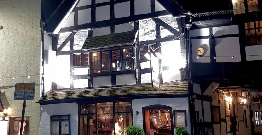 Romantic Cosy Dinning Stratford Upon Avon British Restaurant Exterior Front
