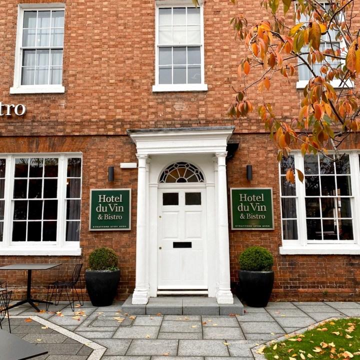 Hotel du Vin Stratford upon Avon Modern Chic Comfort Convenient Central Location Design Exterior Front