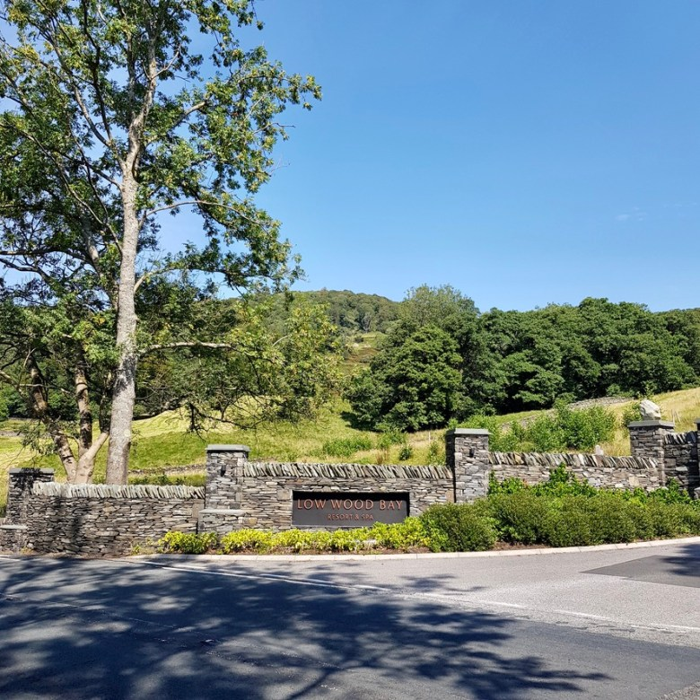 Low Wood Bay Resort Spa Lake Windermere District Luxury Active Holiday Staycation Nature Hiking Family Dog Friendly Entrance
