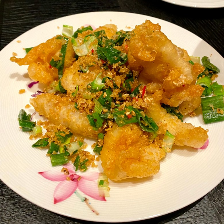 Imperial Treasure London Waterloo Place Chinese Restaurant Michelin High End St James Mayfair Cantonese Expensive Luxury Dining Salt and Pepper Squid