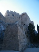 The outside of the Acropolis