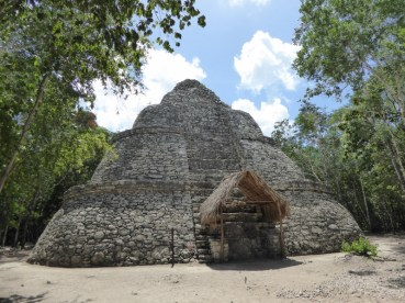 Another temple at Coba