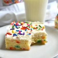 Sugar Cookie Bars