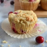Cranberry Orange Muffins - delcious and bright. Perfect for all your holiday brunches. #twosugarbugs #thiscelbratedlife #cranberryorangemuffins