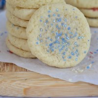 Easy and Fast Soft Drop Sugar Cookies