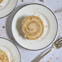 Cookie Butter Swiss Roll