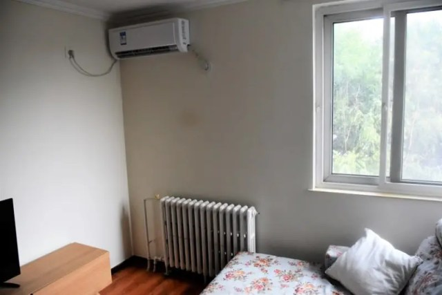 Air Conditioner Unit in Chinese House