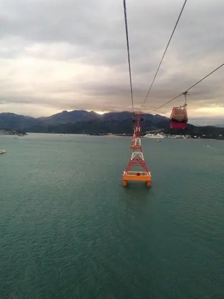 Cable Car From VinPearlLand Waterpark Nha Trang Vietnam Backpacker's Guide to Vietnam