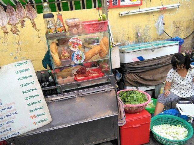 Cheap Banh Mi in Ho Chi Minh City Saigon Vietnam Backpacker's Guide to Vietnam