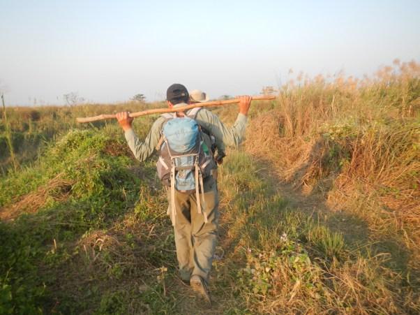 Bishnu, our amazing guide