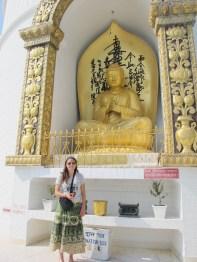 At the World Peace Stupa