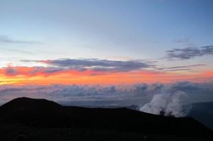 Sunrise over Mt. Semeru