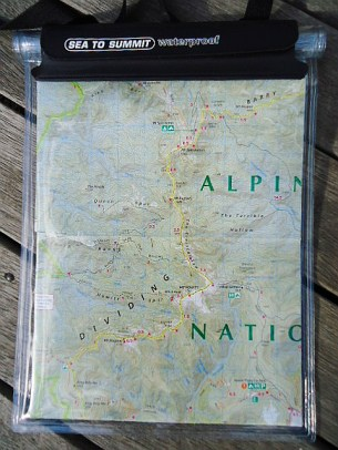 Sea to Summit Waterproof Map Cover