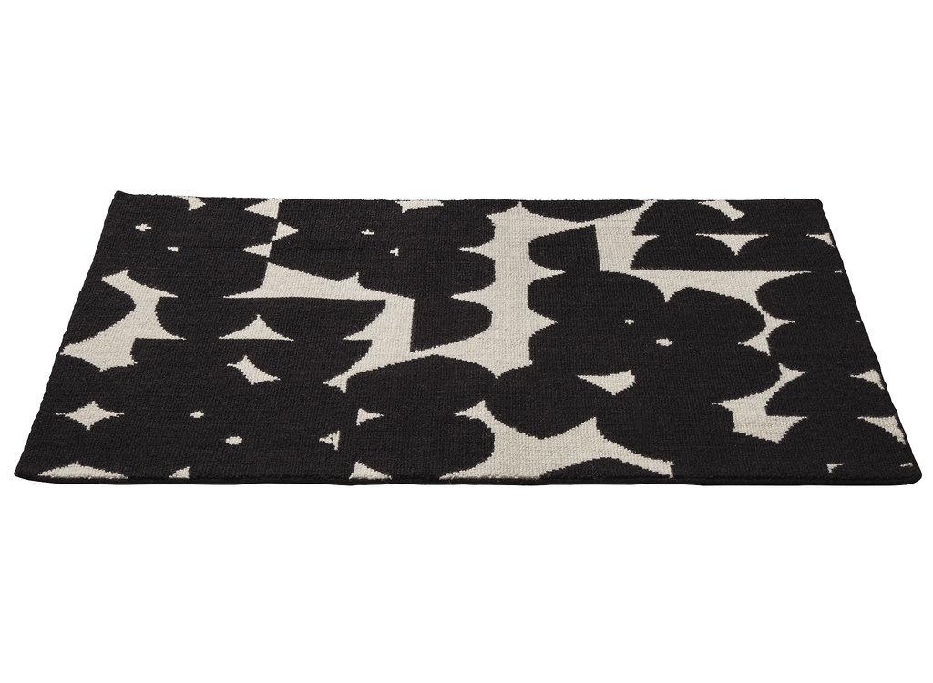 Black And White Chevron Print Table Runner