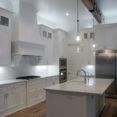 Kitchen Island Pendants Small Buffet Simple White Home Tour