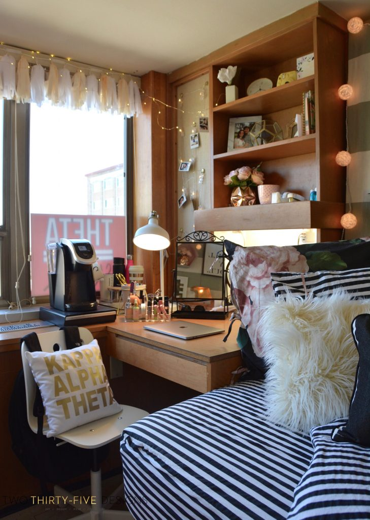 Texas Tech Chitwood Dorm Room Makeover  Two ThirtyFive