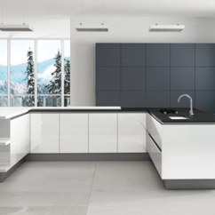High Gloss Acrylic Kitchen Cabinets Hotel Suites With In Atlanta Ga Doors - Made To Measure At Trade Prices
