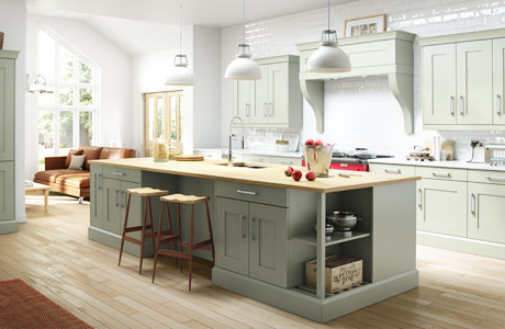 Solid Wood Kitchens Natural & Hand Painted Oak