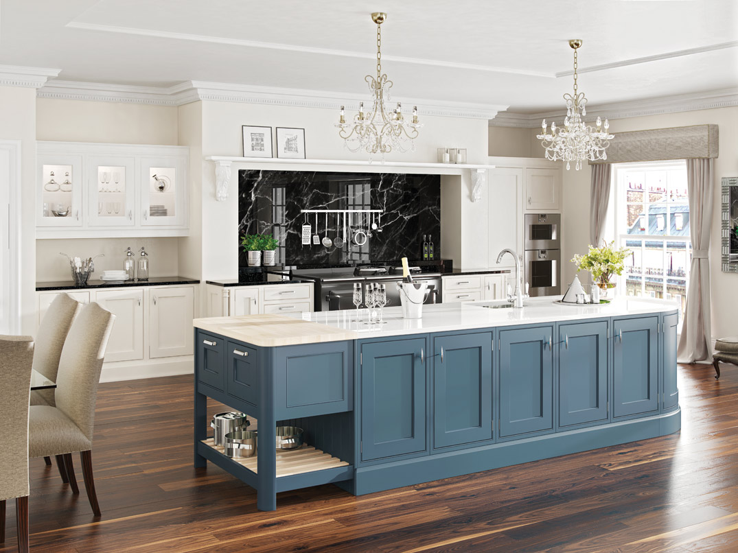 Luxury Inframe Kitchen Collection  Hand Painted