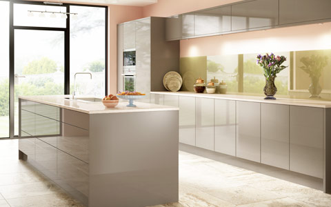 kitchen cabinet doors with glass fronts unique decor acrylic - buy online at trade prices
