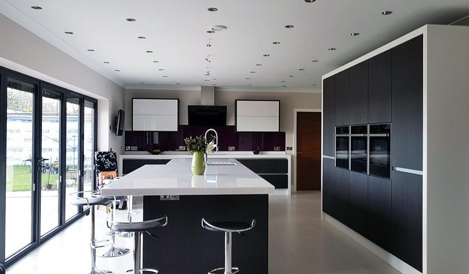 Modern Kitchen Installation in Birmingham  White High