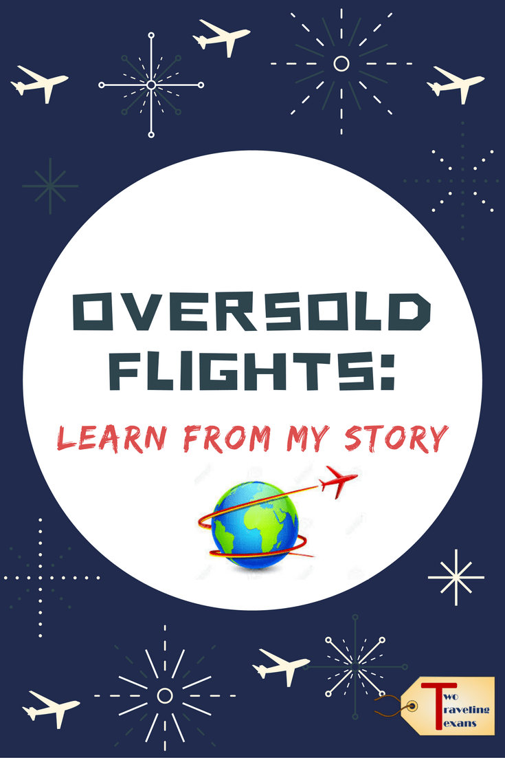 A travel blog about oversold flights and how you can maximize the compensation that you receive from the airline in the US.